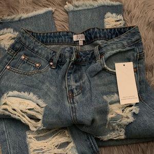 Tobi distressed jeans